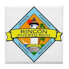 New Rincon Logo Tile Coaster