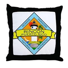 New Rincon Logo Throw Pillow