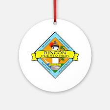 New Rincon Logo Ornament (Round)