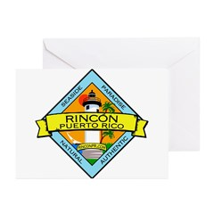 New Rincon Logo Greeting Cards (Pk of 20)