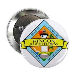 """New Rincon Logo 2.25"""" Button"""