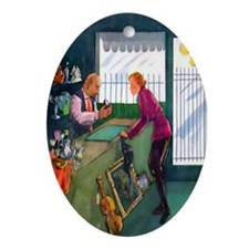 Ring Keepsake (Oval)