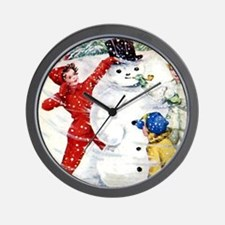 Brownie Scout Wall Clock