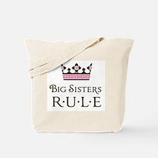 Big Sisters Rule Tote Bag