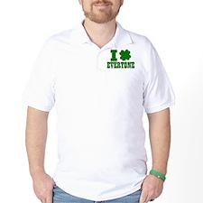 I Shamrock EVERYONE T-Shirt