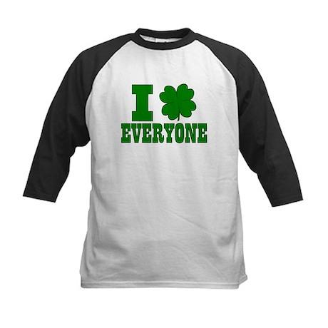 I Shamrock EVERYONE Kids Baseball Jersey