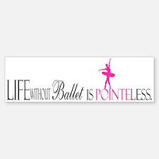 Pointeless Sticker (Bumper)