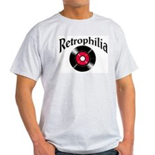 Retrophilia Ash Grey T-Shirt