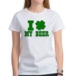 I Shamrock My Beer Women's T-Shirt