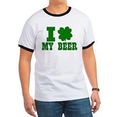I Shamrock My Beer Ringer T