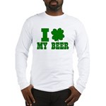 I Shamrock My Beer Long Sleeve T-Shirt