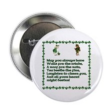 Irish Blessings, Saying, Toasts and Prayer Button