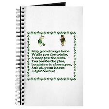 Irish Blessings, Saying, Toasts and Prayer Journal