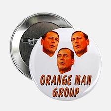 """Orange Man 2.25"""" Button"""