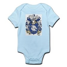 Swan Coat of Arms Infant Creeper
