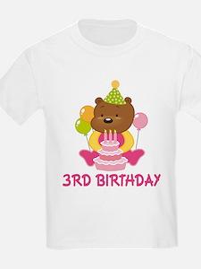 Sweet Bear 3rd Birthday T-Shirt