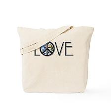Love Earth Tote Bag