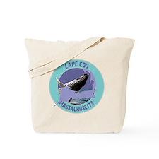 Cape Cod Whale Tote Bag