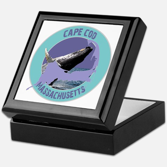 Cape Cod Whale Keepsake Box
