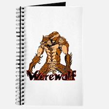 Green Angry Eyes Werewolf Journal