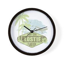 LOST - Lostie green Wall Clock
