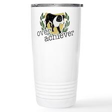 Border Collie Overachiever Travel Mug