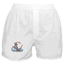 Great Dane Black Crabby Boxer Shorts