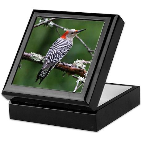 Red-bellied Woodpecker Keepsake Box