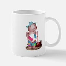 Cool Robot beach Mug