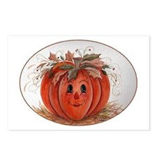 Whimsical Pumpkin Postcards (Package of 8)