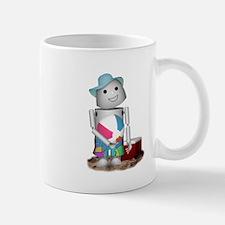 Cute Robot beach Mug