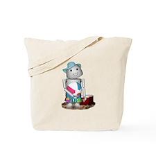 Cool Robot beach Tote Bag