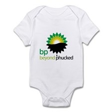 beyond phucked Infant Bodysuit