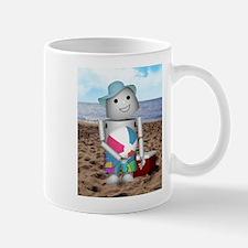 Unique Robot beach Mug