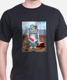 Unique Robot beach T-Shirt