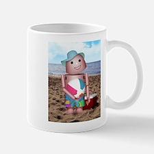 Robot beach Mug