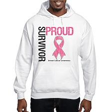 BreastCancer ProudSurvivor Jumper Hoody
