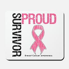 BreastCancer ProudSurvivor Mousepad