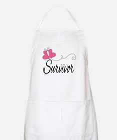 Butterfly Breast Cancer Apron