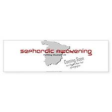 Sephardic Awakening Bumper Bumper Sticker