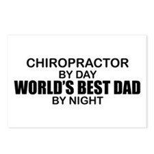 World's Best Dad - Chiropractor Postcards (Package