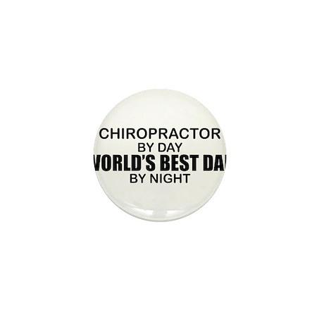 World's Best Dad - Chiropractor Mini Button