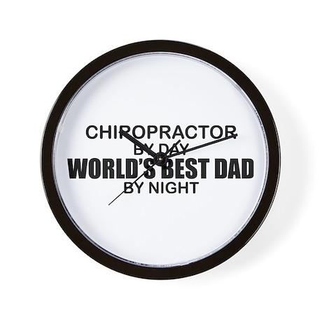 World's Best Dad - Chiropractor Wall Clock