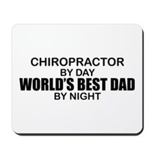 World's Best Dad - Chiropractor Mousepad