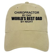 World's Best Dad - Chiropractor Baseball Cap