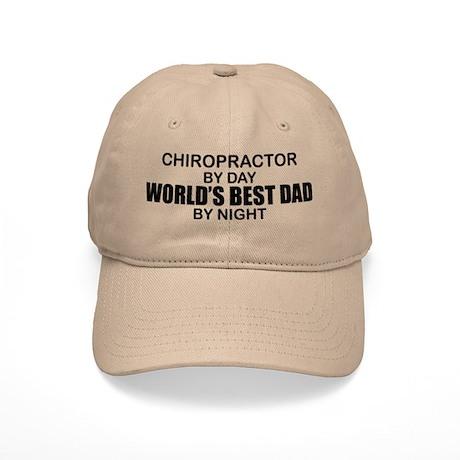 World's Best Dad - Chiropractor Cap