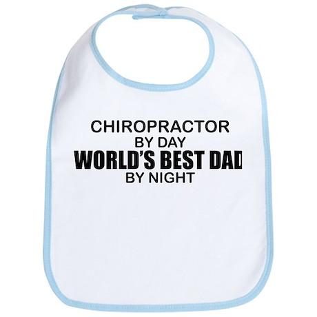 World's Best Dad - Chiropractor Bib