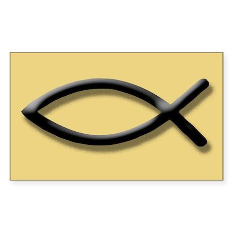 Christian Fish Icthus Sticker