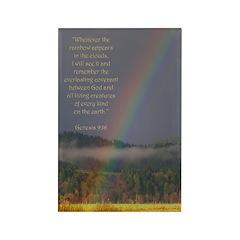 Bible Verse Genesis 9:16 Rectangle Magnet (10 pk)