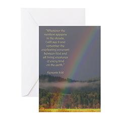 Bible Verse (Genesis 9:16) Greeting Cards (Pkg. 6)